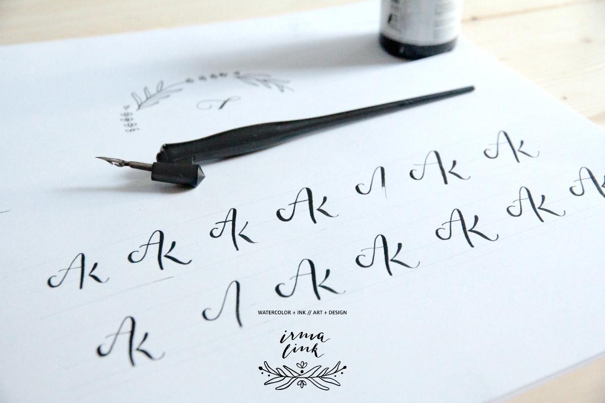 Design, Monogramm, AK Auftragsarbeit, irma link