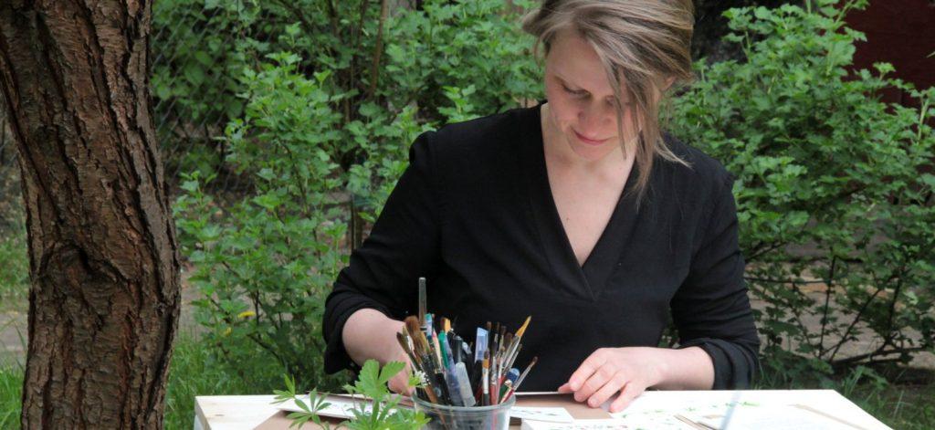 Branding Illustration Lettering Kalligraphie irma link artist