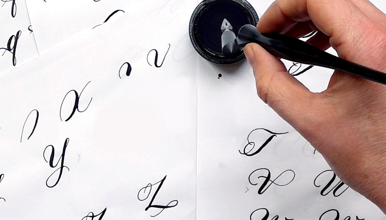 Moderne Kalligraphie