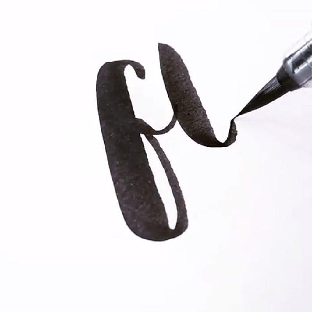 Brushlettering Stile finden irma link artist
