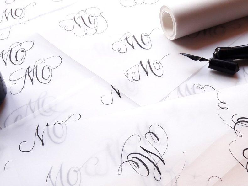Tutorials Moderne Kalligraphie lernen Berlin Workshops irma link Kalligraphin und illustratorin