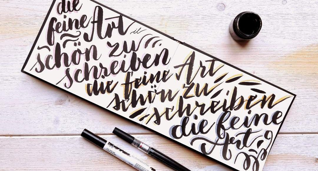 Handlettering Berlin Brush Lettering Workshop FineArt Brushlettering irma link