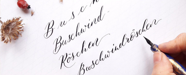 Kalligraphie Wochenende Berlin Moderne Kalligrafie Berlin Workshops irmalink modern Schönschreiben
