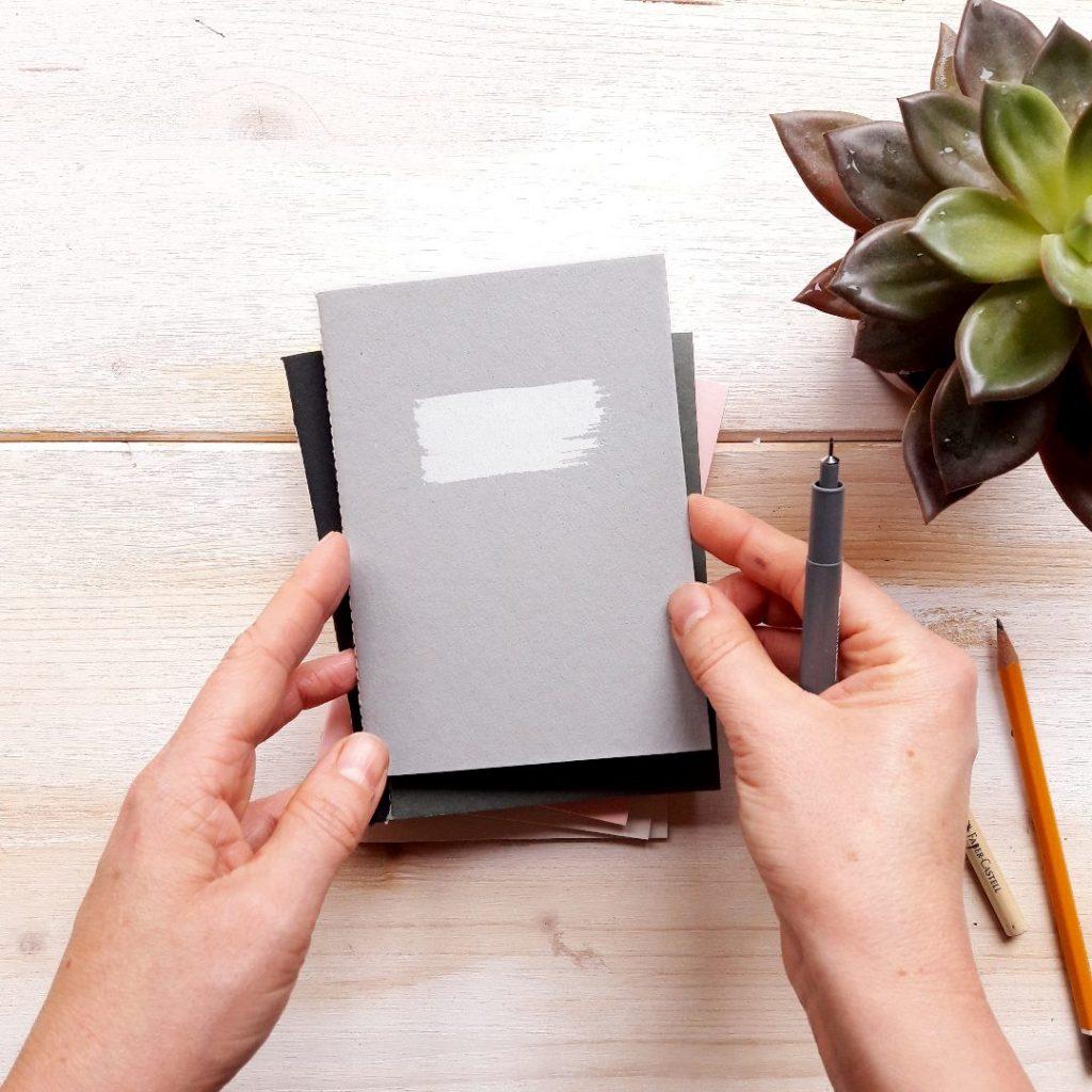 Diary Skizzenbuch Veganes Heft Shop Online kaufen feinimdesign