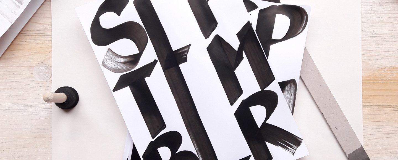 Handlettering Berlin Workshop Brushlettering Pinselstift irma link artist Kalligraphin Schrift Gestalterin