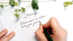Handschrift verbessern in 10 einfachen Schtitten kalligraphin irma link artist
