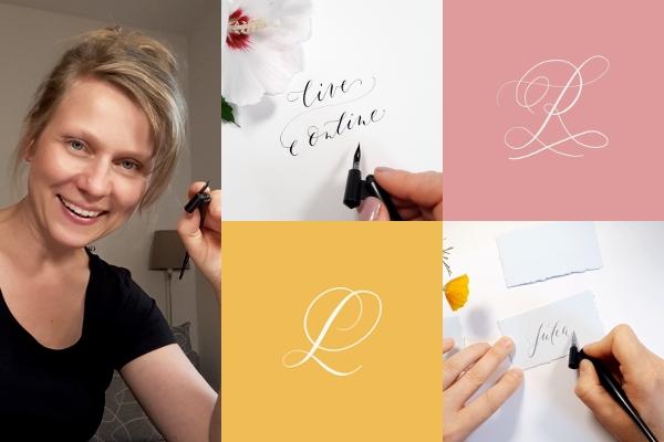 Online-Klasse Moderne Kalligraphie für Einsteiger Anfänger irma link Kalligraphie