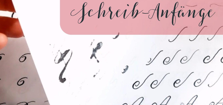 Kalligraphie anfangen Einsteigen Online Klasse Workshops Mut Ermutigung Anfänge irma link Kalligraphie