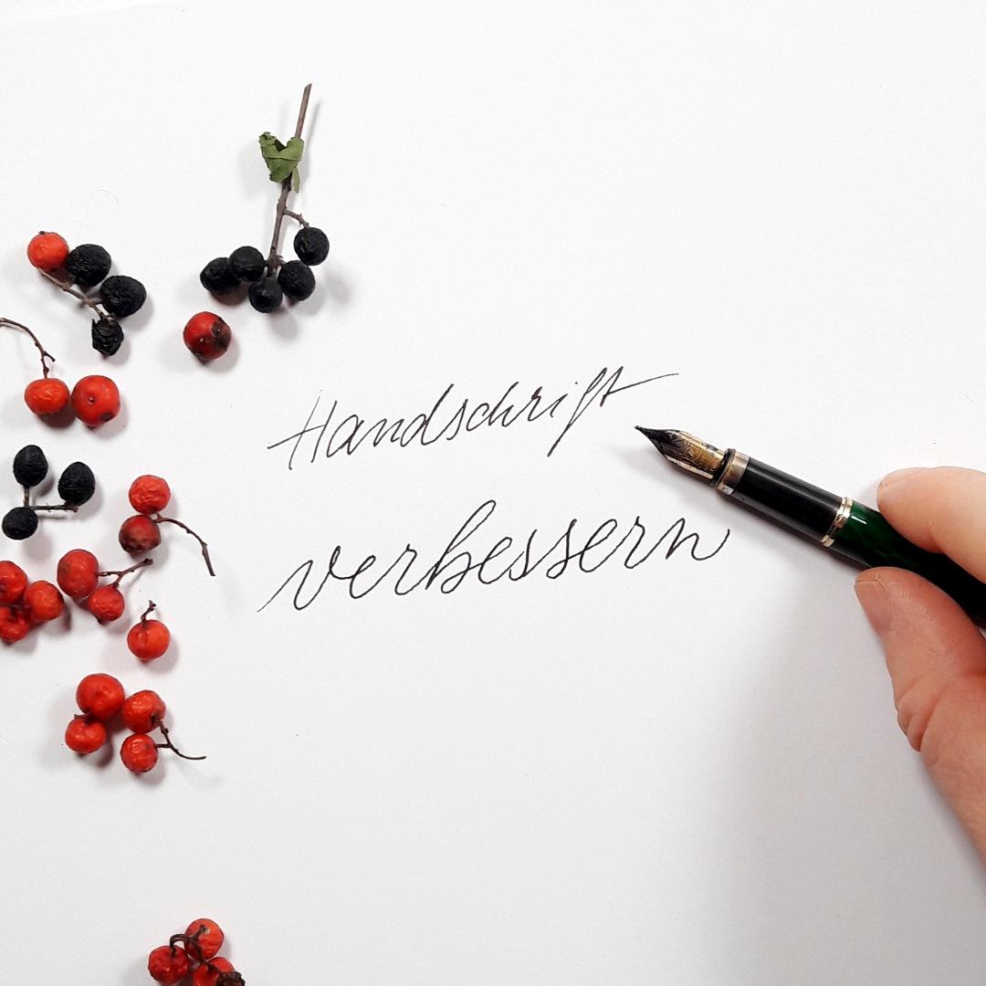 Moderne Kalligraphie Handschrift verbessern verschoenen uebungen Freebie kostenfrei lernen Freizeit Workshop irmalink
