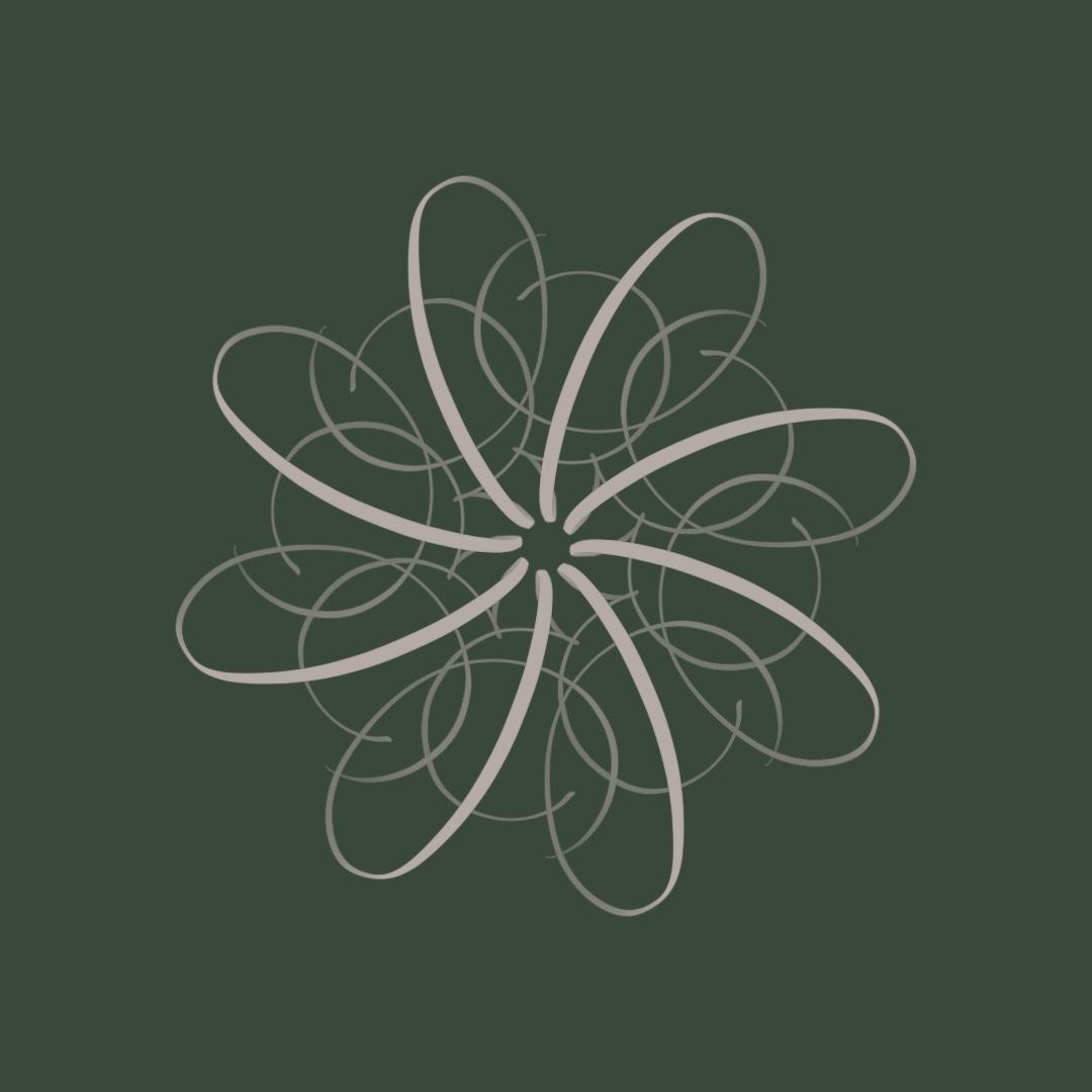 Moderne Kalligraphie Flourishing Style Buchstabe klein f irma link