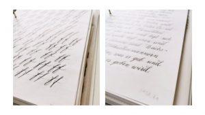 Kalligraphie lernen modern Erfahrungen Online-Klasse Kurs irma link