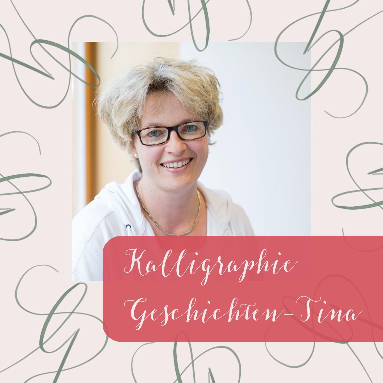 Moderne Kalligraphie als Fortgeschrittene lernen Tina Blog irma link Kalligraphie