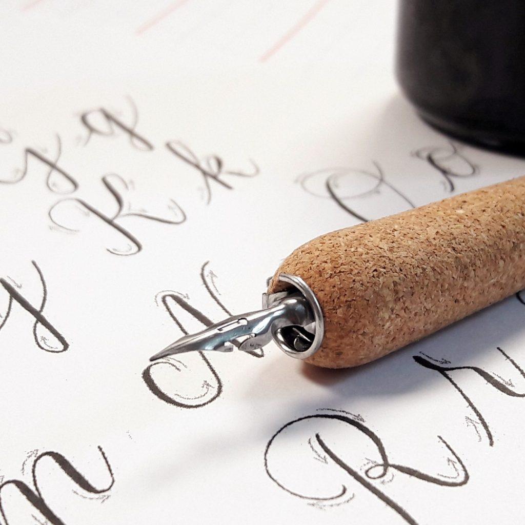 Kalligraphie lernen mit dem Workbook von irma link