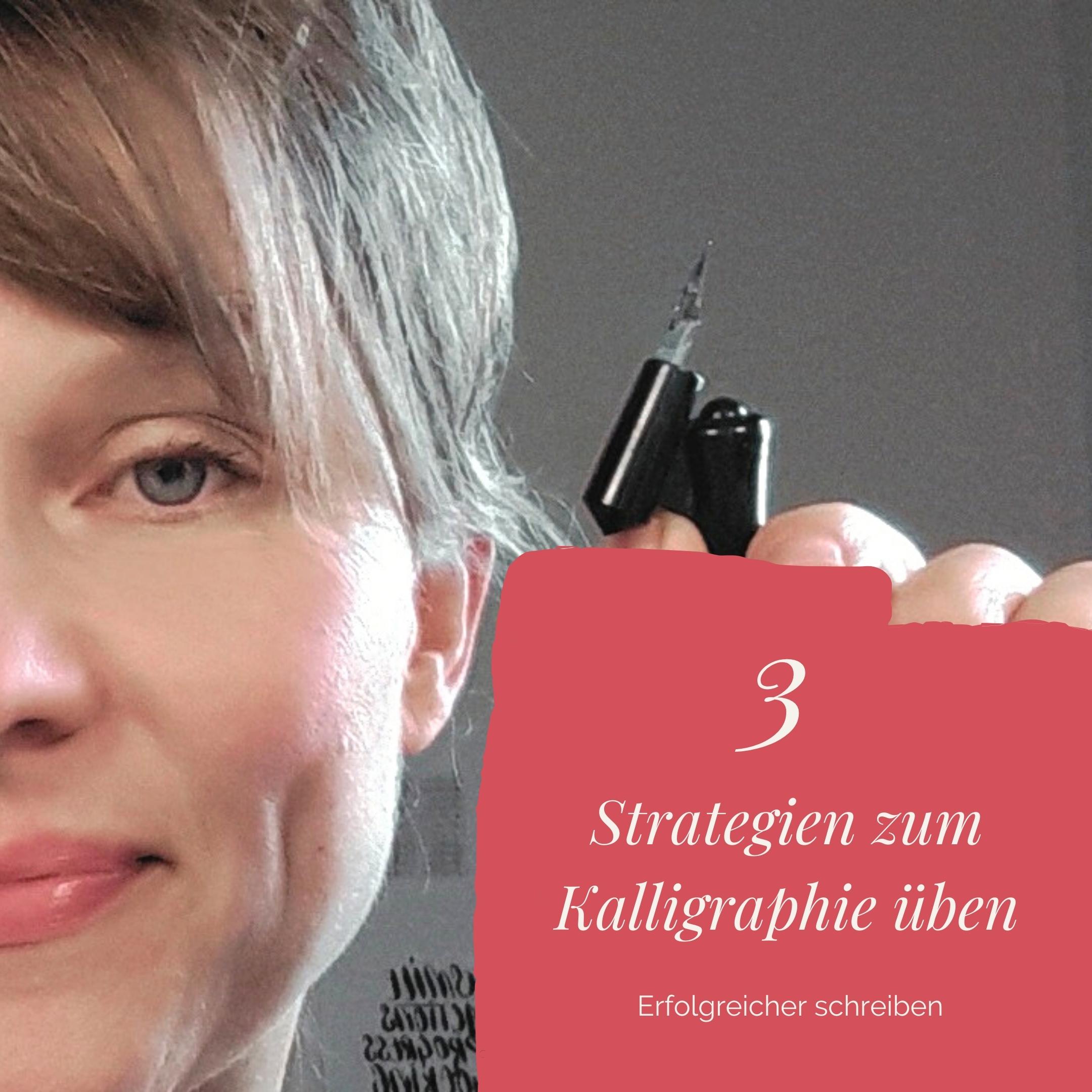 Kalligraphie lernen 3 Strategien für leichteres Üben irma link Blog Üben leicht gemacht